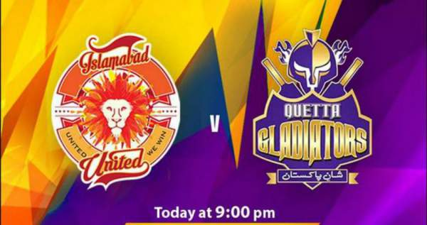 Islamabad United vs Quetta Gladiators Live Streaming