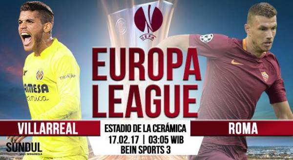 Villarreal vs Roma Live Streaming
