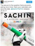 Sachin Biopic Release Date: 'Sachin: A Billion Dream' To Release In May 2017