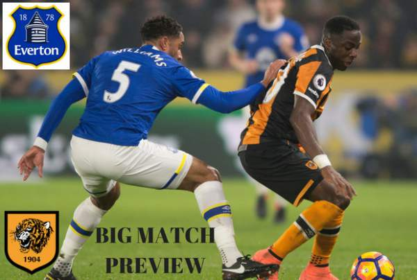 Everton vs Hull City Live Streaming