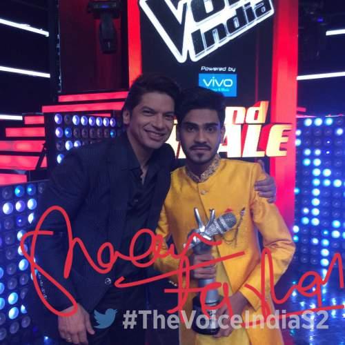 The Voice India 2017 Winner Name: Farhan Sabir
