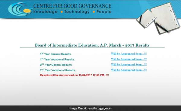 BIEAP Inter 2nd Year Result 2017 Name/ Rank Wise Declared @ manabadi.com