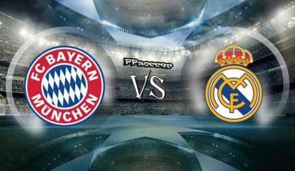 Bayern Munich vs Real Madrid Live Streaming
