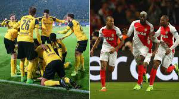 Monaco vs Borussia Dortmund Live Streaming