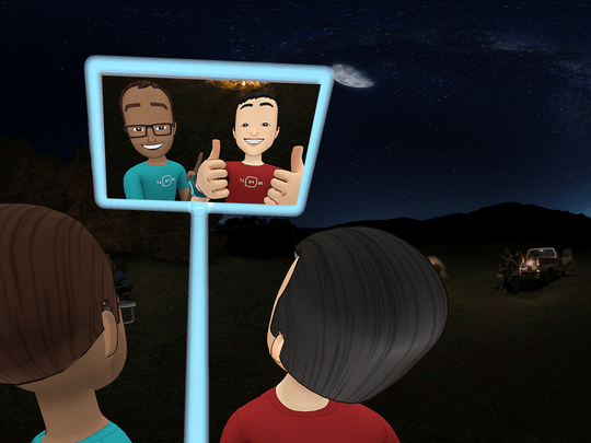 facebook spaces features, how to use facebook spaces, facebook spaces avatar, facebook spaces news