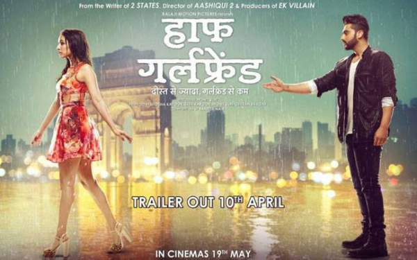 half girlfriend trailer, half girlfriend movie trailer