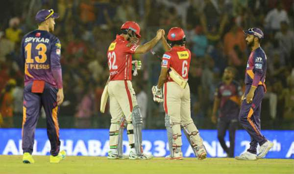 Rising Pune Supergiants vs Kings XI Punjab Live Streaming