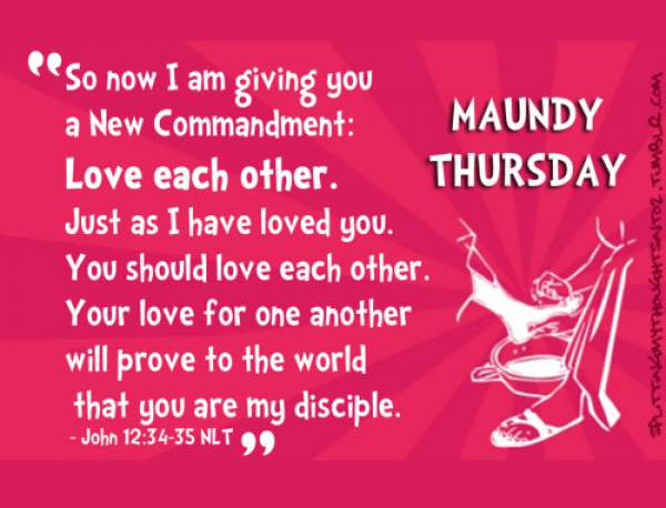Happy Maundy Thursday 2019 Quotes Images Wishes Messages