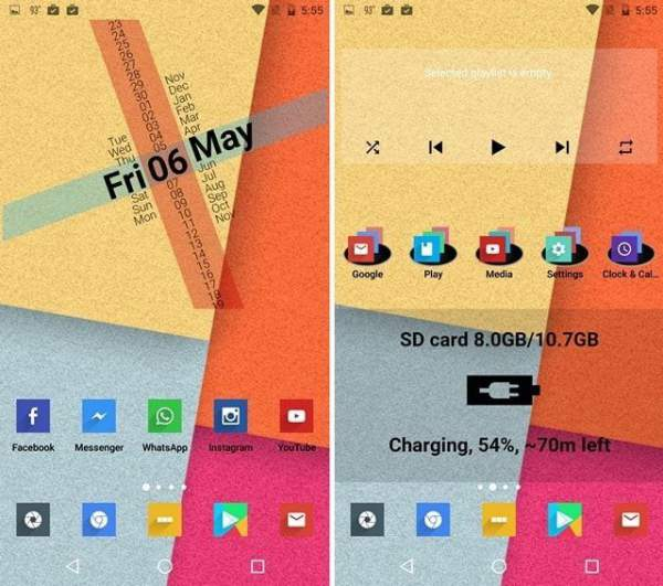 Nova Launcher Flat Colorful Theme