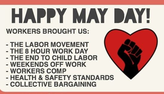 Happy May Day 2019 Quotes, May Day Messages ,May Day Wishes,May Day Observance ,May Day History