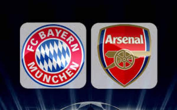 Bayern Munich vs Arsenal Live Streaming