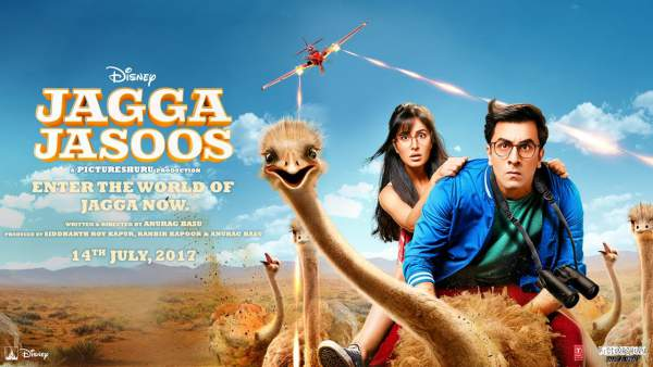 jagga jasoos 2nd day collection, jagga jasoos 1st saturday collection, jagga jasoos box office collection