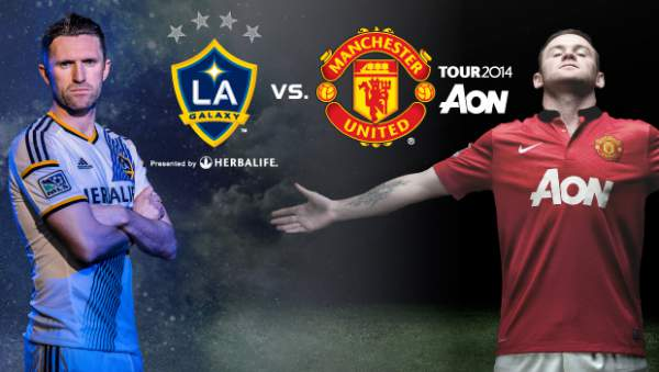 LA Galaxy vs Manchester United Live Streaming