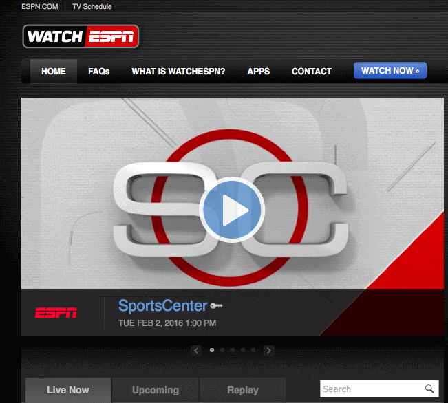 Live Sports Streaming Sites To Watch Sports Online