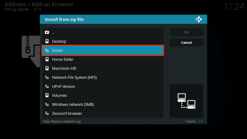 How to Install Fusion Kodi Addon