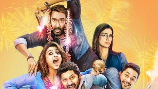 golmaal again 2nd day collection, golmaal again saturday collection, golmaal again collection, golmaal again box office collection
