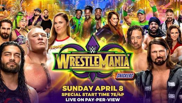 wwe wrestlemania 34 live streaming, results, watch wwe network online