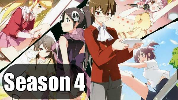 The World God Only Knows Season 4 Release Date 2018 & Spoilers