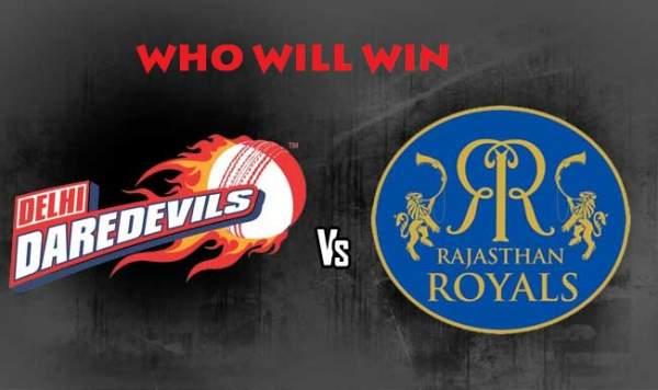 delhi daredevils vs rajasthan royals live streaming.