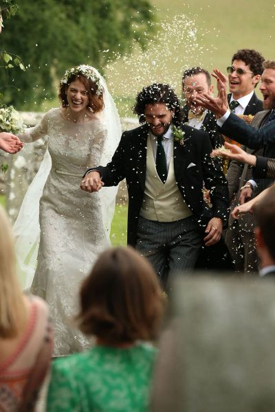 "It's Official!!!! Kit Harington & Rose Leslie AKA Jon Snow and Ygritte From ""Game of Thrones"" Are now Married."