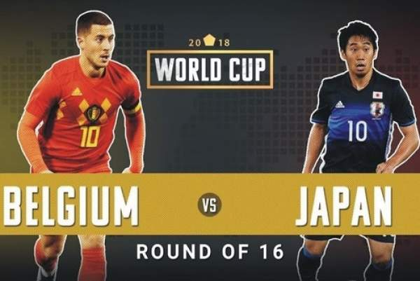 belgium vs japan live streaming fifa world cup 2018 score watch online