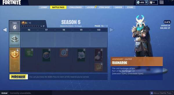 Fortnite Season 5 Skins Officially Revealed For New Battle