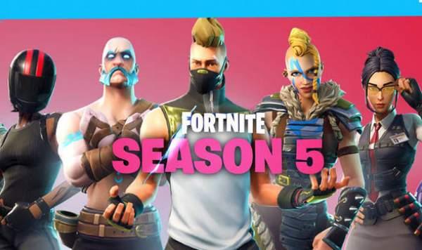 Fortnite Season 5 Battle Pass Skins, Price