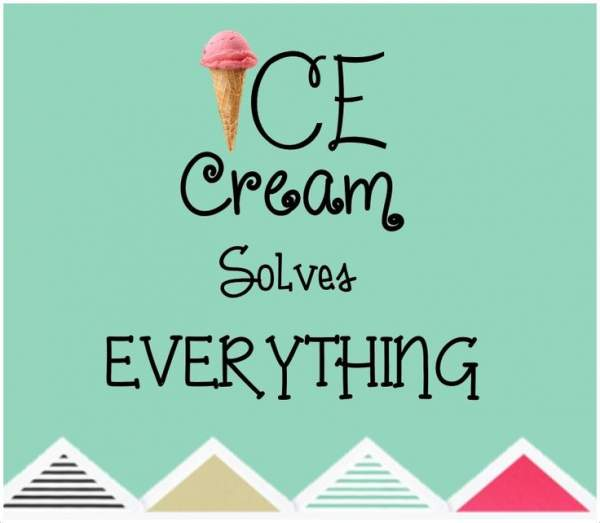 ice cream quotes, images, jokes, puns, captions, sayings, facts