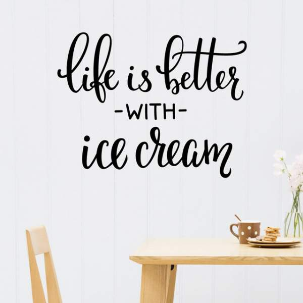 ice cream quotes, images, jokes, puns, captions, sayings, facts on national ice cream day 2018