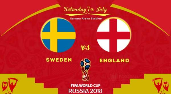 sweden vs england live streaming fifa world cup 2018 score