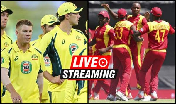 zimbabwe vs australia live streaming cricket score 3rd t20