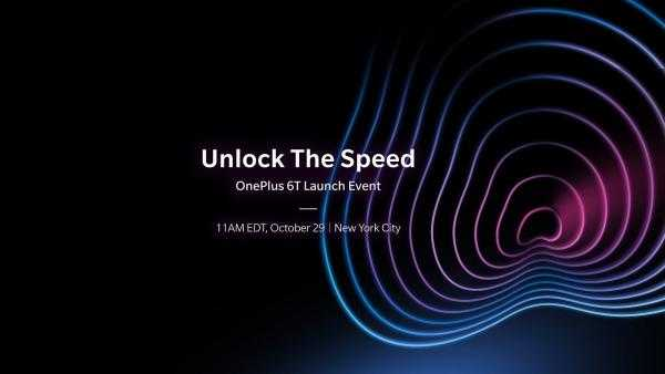 OnePlus 6T Launch Event Live