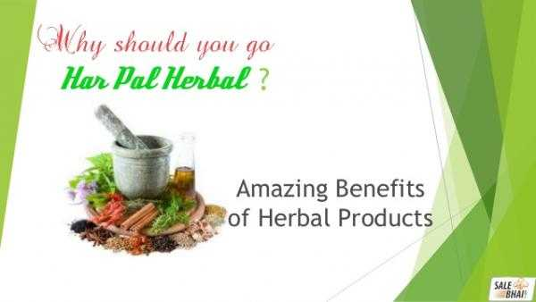 Potential Benefits of Using Herbal Products and Supplements